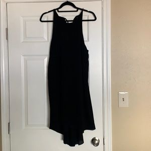 Black High Neck Dress (Size L)